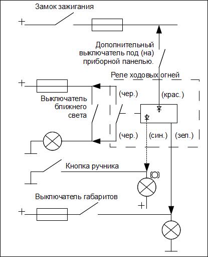 Типовая схема подключения с